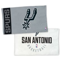 WinCraft NBA SAN ANTONIO SPURS Authentic On-Court Bench Handtuch 107cm x 56cm