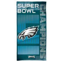 WinCraft NFL PHILADELPHIA EAGLES Super Bowl 2018 Champions Spectra Strandtuch
