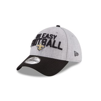 New Era NFL NEW ORLEANS SAINTS Authentic 39THIRTY Onstage Draft 2018 Stretch Fit Cap – Bild 1