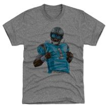 500 Level NFL CAROLINA PANTHERS - Cam Newton Super L Premium T-Shirt