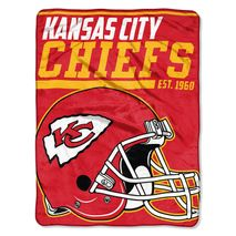Northwest NFL KANSAS CITY CHIEFS 40 Yard Dash Decke