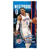 WinCraft NBA RUSSELL WESTBROOK  - Oklahoma City Thunder Player Strandtuch 75cm x 150cm