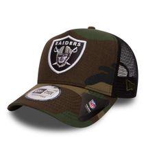New Era NFL OAKLAND RAIDERS Camo Team 9FORTY Trucker Cap