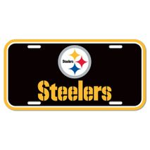 WinCraft NFL PITTSBURGH STEELERS License Plate Schild