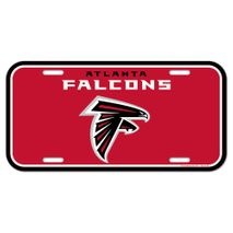 WinCraft NFL ATLANTA FALCONS License Plate Schild