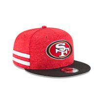 New Era NFL SAN FRANCISCO 49ERS Authentic 2018 Sideline 9FIFTY Snapback Home Cap
