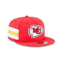 New Era NFL KANSAS CITY CHIEFS Authentic 2018 Sideline 9FIFTY Snapback Home Cap