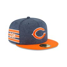 New Era NFL CHICAGO BEARS Authentic 2018 Sideline 59FIFTY Home Cap