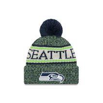 New Era NFL SEATTLE SEAHAWKS Authentic 2018 Sideline Sport Knit (Wintermütze)