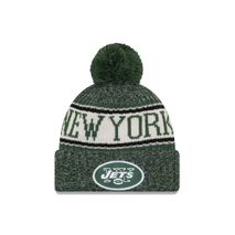 New Era NFL NEW YORK JETS Authentic 2018 Sideline Sport Knit (Wintermütze)