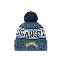 New Era NFL LOS ANGELES CHARGERS Authentic 2018 Sideline Sport Knit (Wintermütze)