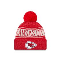 New Era NFL KANSAS CITY CHIEFS Authentic 2018 Sideline Sport Knit (Wintermütze)