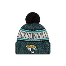 New Era NFL JACKSONVILLE JAGUARS Authentic 2018 Sideline Sport Knit (Wintermütze)