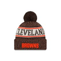 New Era NFL CLEVELAND BROWNS Authentic 2018 Sideline Sport Knit (Wintermütze)