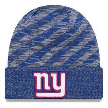 New Era NFL NEW YORK GIANTS Authentic 2018 Touchdown Sideline Sport Knit Wintermütze