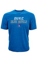 Levelwear NCAA DUKE BLUE DEVILS Tide Slant Route T-Shirt