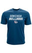 Levelwear NCAA GONZAGA BULLDOGS Tide Slant Route T-Shirt