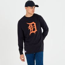 New Era MLB DETROIT TIGERS Team Apparel Long Sleeve Sweatshirt