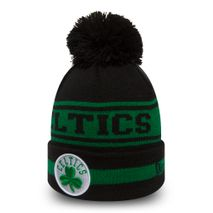 New Era NBA BOSTON CELTICS Team Jake Bobble Knit Wintermütze