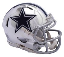 Riddell NFL DALLAS COWBOYS Chrome Speed Mini Footballhelm