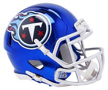Riddell NFL TENNESSEE TITANS Chrome Speed Mini Footballhelm