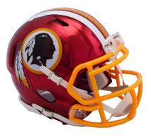 Riddell NFL WASHINGTON REDSKINS Chrome Speed Mini Footballhelm