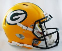 Riddell NFL GREEN BAY PACKERS Speed Mini Footballhelm