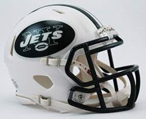 Riddell NFL NEW YORK JETS Speed Mini Footballhelm