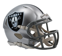 Riddell NFL OAKLAND RAIDERS Speed Mini Footballhelm