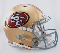 Riddell NFL SAN FRANCISCO 49ERS Speed Mini Footballhelm