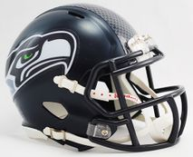 Riddell NFL SEATTLE SEAHAWKS Speed Mini Footballhelm