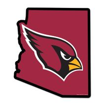 WinCraft NFL ARIZONA CARDINALS State Wood Sign Holzschild