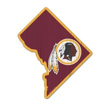 WinCraft NFL WASHINGTON REDSKINS State Wood Sign Holzschild