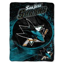 Northwest NHL SAN JOSE SHARKS Break Away Decke