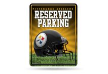 Rico Industries NFL PITTSBURGH STEELERS Parking Sign Schild