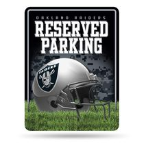 Rico Industries NFL OAKLAND RAIDERS Parking Sign Schild