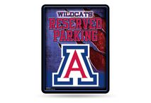 Rico Industries NCAA ARIZONA WILD CATS Parking Sign Schild