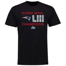 Fanatics NFL NEW ENGLAND PATRIOTS Super Bowl LIII 2019 Champions Extra Point T-Shirt