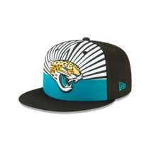 New Era NFL JACKSONVILLE JAGUARS 2019 Official ON-STAGE 9FIFTY Snapback Draft Cap
