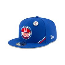 New Era NBA LOS ANGELES CLIPPERS Authentic 2019 Draft 9FIFTY Snapback Cap
