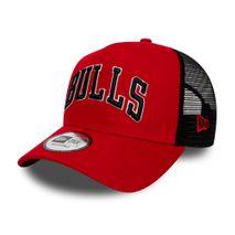 New Era NBA CHICAGO BULLS Reverse Team 9FORTY Trucker Cap
