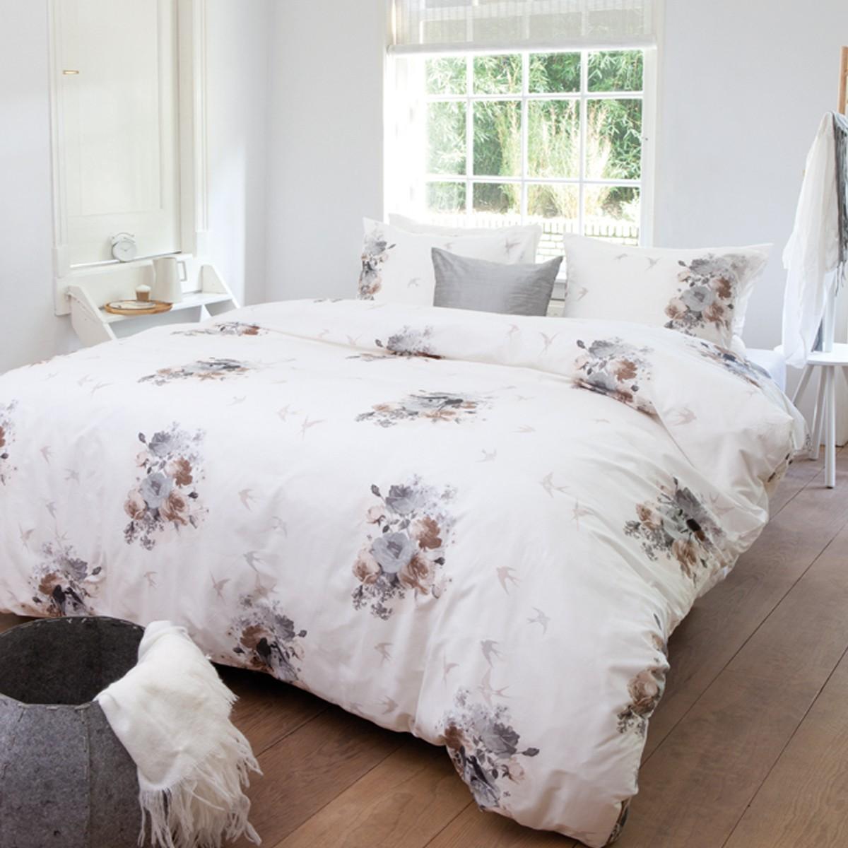 beddinghouse baumwolle bettw sche air light grey. Black Bedroom Furniture Sets. Home Design Ideas