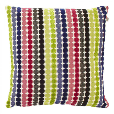 Dutch Decor Kissenbezug Flantana dot multi 45 x 45 cm bunt geometrisches Muster