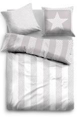Tom Tailor Linon Bettwäsche Streifen 49759-844 grey