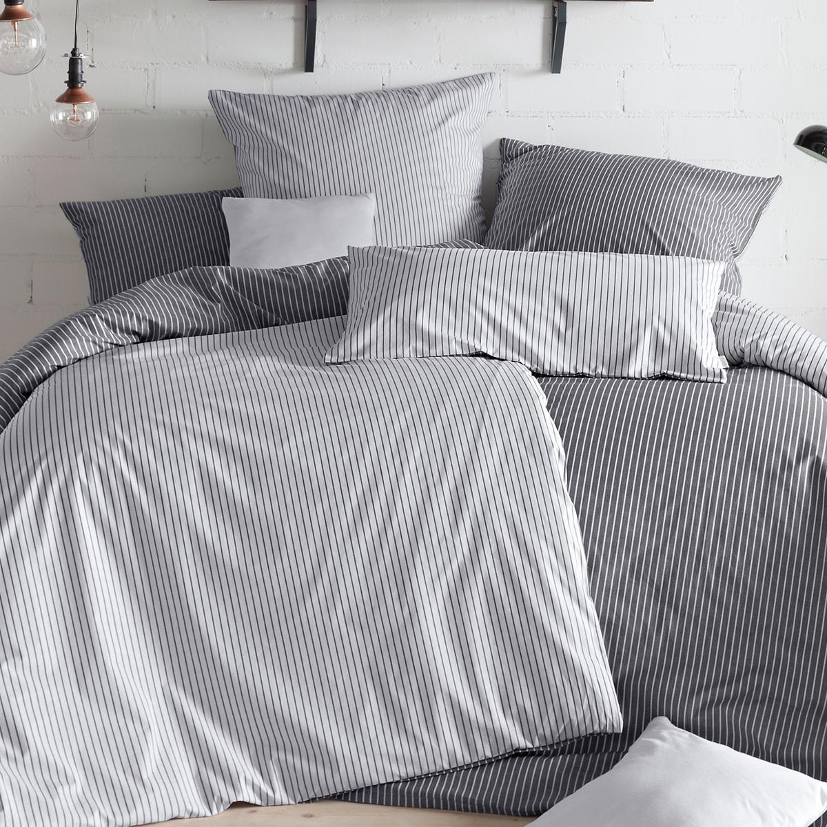 estella mako perkal bettw sche ronda 2250 905 schiefer. Black Bedroom Furniture Sets. Home Design Ideas
