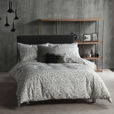 Cloth & Clay Bettwäsche Lolani grau   100% Baumwolle / Perkal