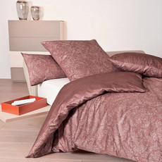 Janine Mako-Satin Bettwäsche Messina 43018-01 marsala