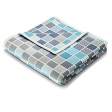 Biederlack Decke  Strucktur & Senses Tendenz  150 x 200 cm blau