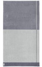 Seahorse Block – Strandlaken – 100 x 180 cm – grau 100% Baumwolle