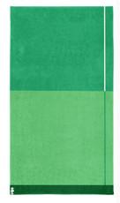 Seahorse Block – Strandlaken – 100 x 180 cm – grün  100% Baumwolle
